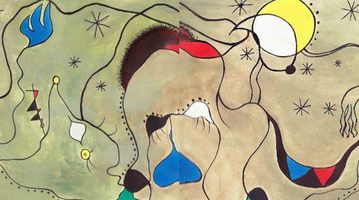 Джоан Миро: Против картина techgnotic на DeviantArt