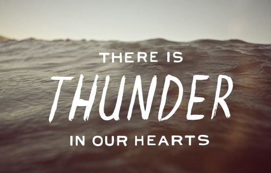 day three - thunder in our hearts