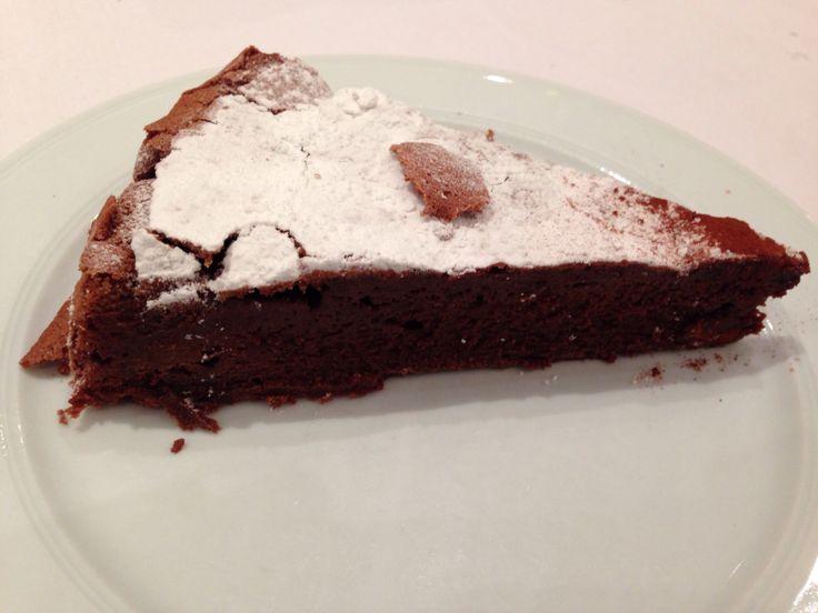 Tarte au chocolat fait maison: excellent!