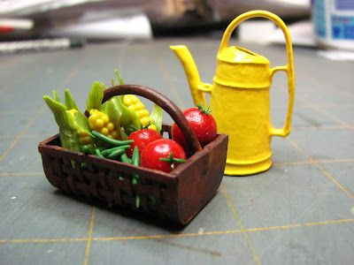 how to make miniature baskets from paper