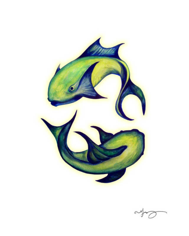 Pisces Fish, Melanie Vowles, ART.COM