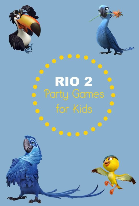 Fun Rio 2 Party Games for Kids