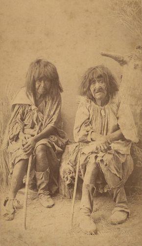 Yuma Nation women, San Carlos, Arizona. 1887