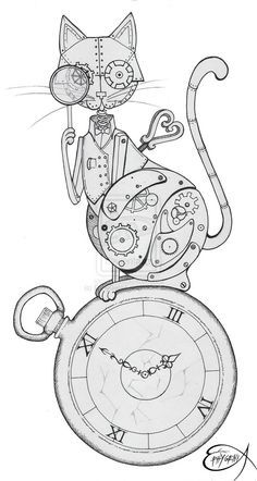 Steampunk drawing class