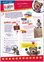 Little charley bear activity pack