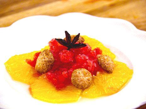 Stjärnanismarinerad apelsin | Recept.nu
