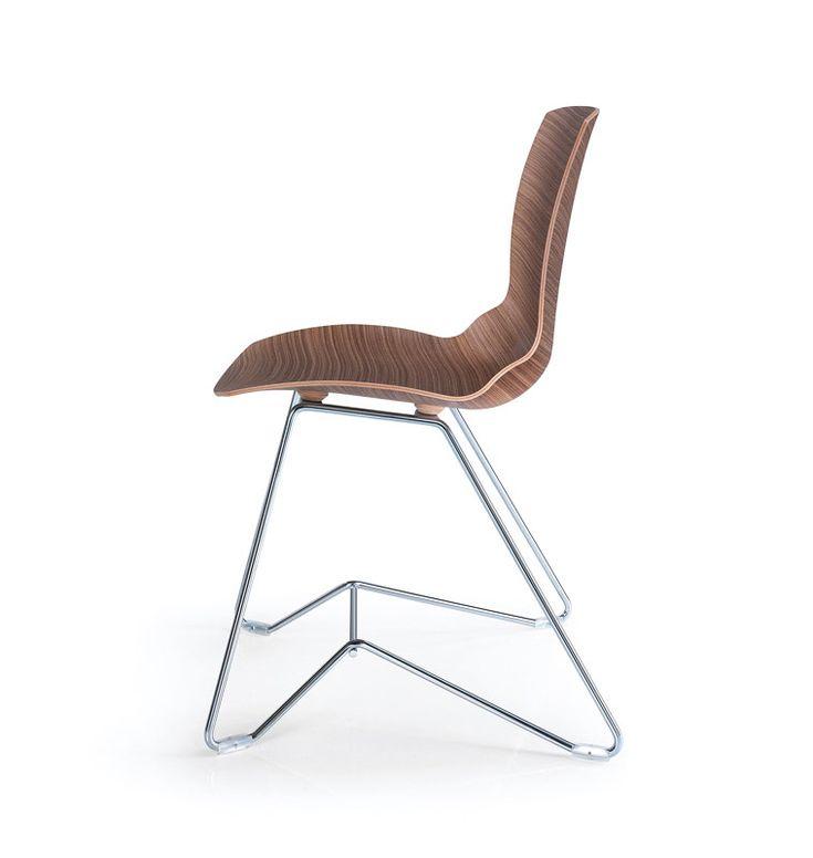 Michele De Lucchi's feeling for design: Kaleidos Wood chair, Caimi Brevetti, 2014
