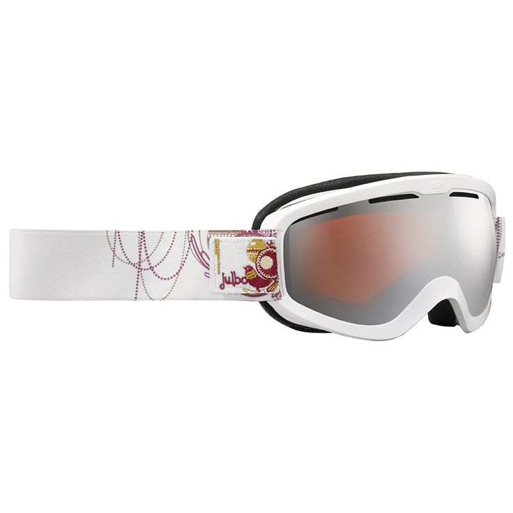 Masque de ski Julbo Vega Blanc Spectron 3 Argent 2017