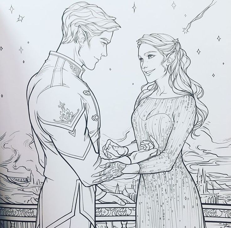 Feyre Darling and Rhysand during Starfall Dust hitting Feyre in the face then after laughing and staring deeply into each others eyes, bluish greenish star dust falls on Rhysand and they both burst laughing. Feyre Smiles, truly smiles at him and he asked her to smile again. And she does because she painted once again, for the first time. For him. MY BABIES DESERVE SO MUCH MORE ACOMAF coloring book ACOTAR ACOWAR Sarah J. Maas Charlie Bowater