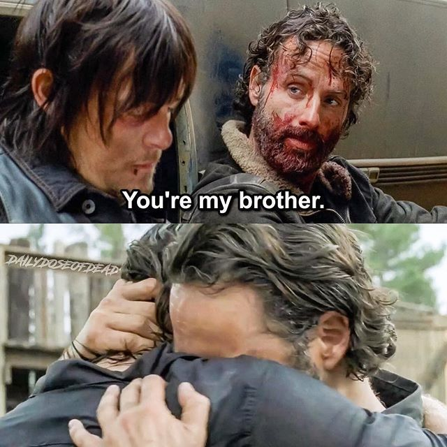Glad they reunited :') #TheWalkingDead #TWD #WalkingDead #RickGrimes #DarylDixon