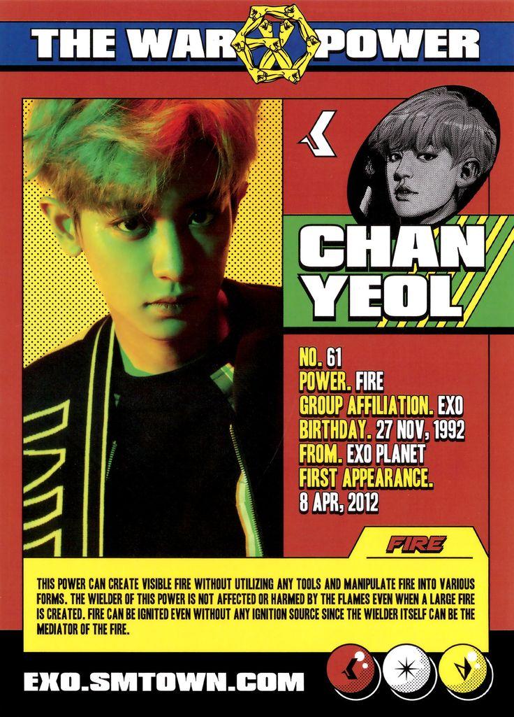 #CHANYEOL #EXO #POWER