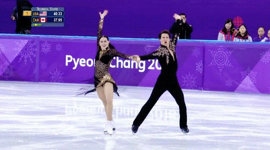 THEY OWNED THAT SD I'M SO PROUD I'M WEEPY tessa and scott pyeongchang 2018 sd: sympathy for the devil golden bbs shesailsships.tumblr.com