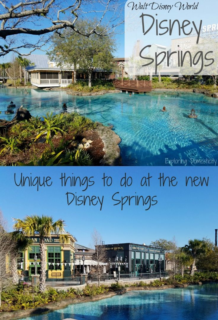 Disney Springs is a great place to visit during your Walt Disney World stay. There is no admission to enter and so many things to do to keep you in the Disney spirit without going to the parks. We always take a day and visit Disney Springs - formerly Disney Marketplace or Downtown ...