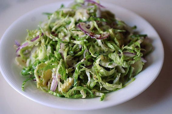 Brussels sprout salad: Health Food, Red Onions, Brussels Sprouts, Sprouts Salad, Shaving Brussels, Food Recipe, Food 52, Lemon, Food52