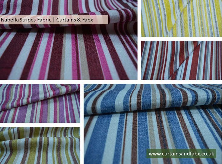 Vertical Striped Fabric With Stripes Of Varied Width. Fantastic Print On A  Cotton Mix Fabric