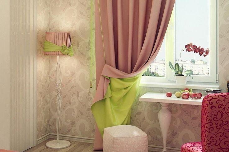 Двухсторонние шторы на подкладке – идеи дизайна в интерьере квартиры