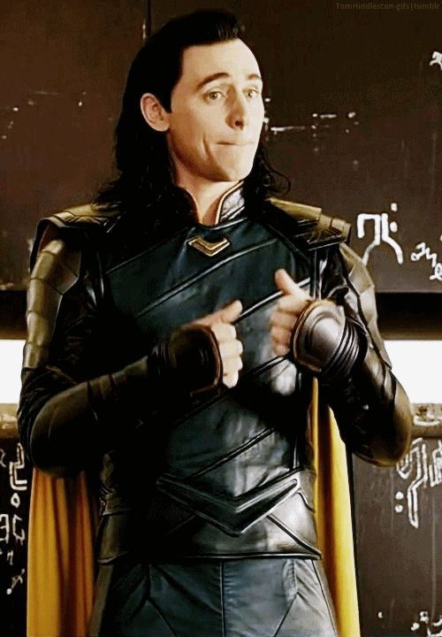 When someone tries to insult me for liking Loki over all the heroes lol good try bro