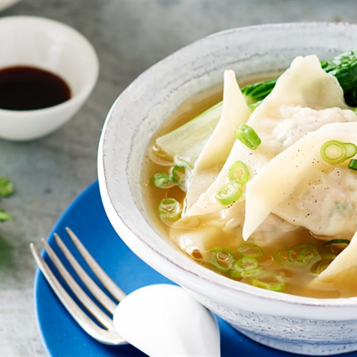 Julie Goodwin's dumpling soup recipe is a great treat for the whole family.