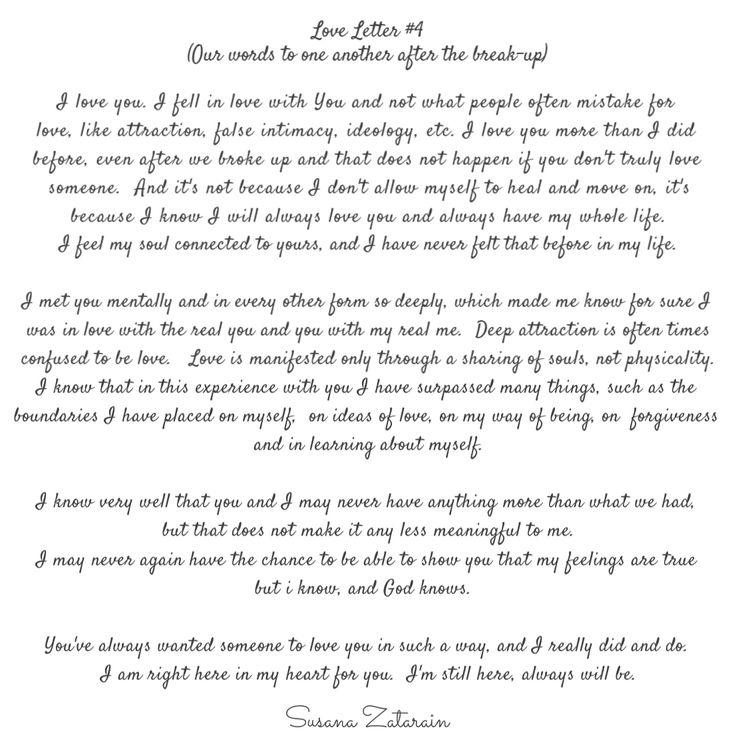 poem break up relationship letter
