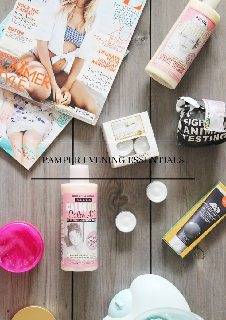 Pamper Evening Essentials With Victoria Plumb.