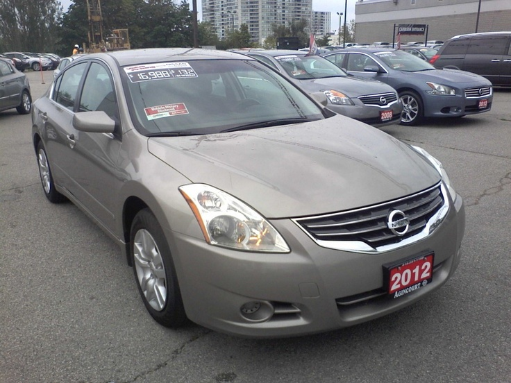 Used Nissan Altima >> 2012 Nissan Altima 2.5 S Sedan For Sale | TORONTO ON | Used Inventory | Pinterest | Nissan ...
