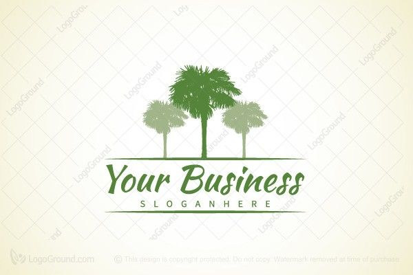 Logo for sale: Palm Logo