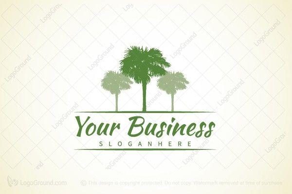Logo for sale: Palm Logo