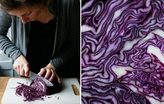 Red cabbage is a genuine Christmas ingredient in Denmark and Sweden. Often it's served cooked with sugar. My mom and me made this crispier version of a Red Cabbage Salad some Christmases ago and we…