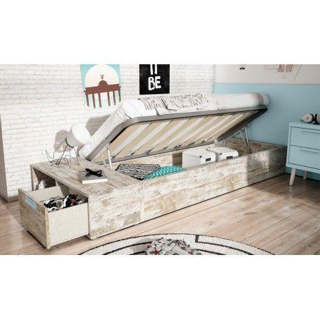 Las 25 mejores ideas sobre canape cama en pinterest y m s for Camas en altura juveniles