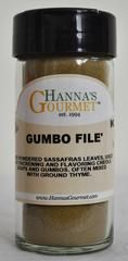 Gumbo File - 4 fl oz...Net Weight: 2 oz