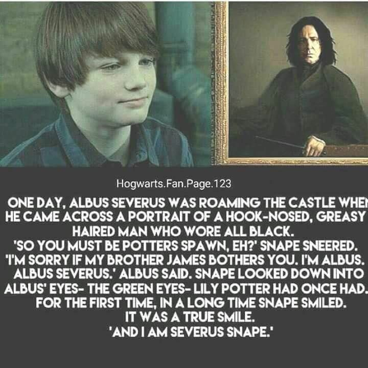Harry Potter On Instagram Albus Severus Potter And Severus Snape Harrypotterfilm Harrypott Albus Severus Potter Albus Severus Harry Potter Severus Snape