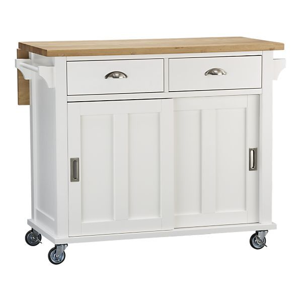 White Kitchen Island Cart 24 best mobile kitchen islands images on pinterest | kitchen carts