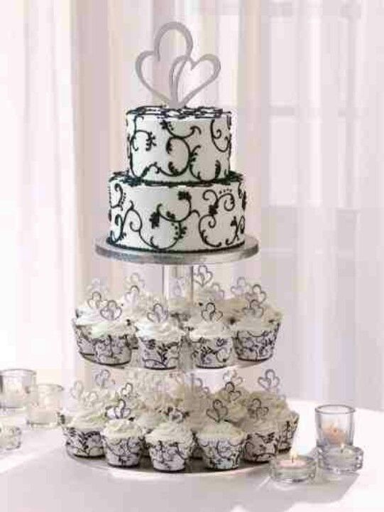 My wedding cake. Ordered from Publix