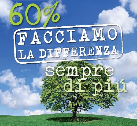 raccolta differenziata. Nel 2010 eravamo a 55,93% nel 2011 a 58,87% e nel 2012 Desio ha superato la soglia del  60%.  Dal 6 maggio al via la distribuzione dei sacchetti ai cittadini.