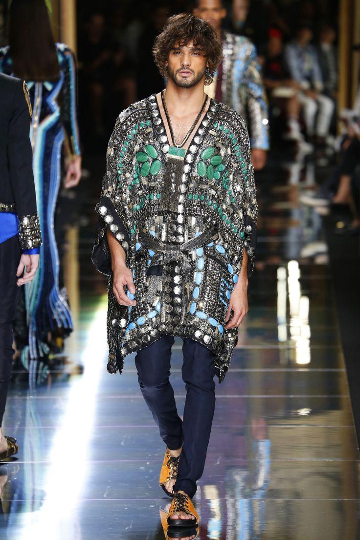 Balmain | Menswear - Spring 2017 | Look 70