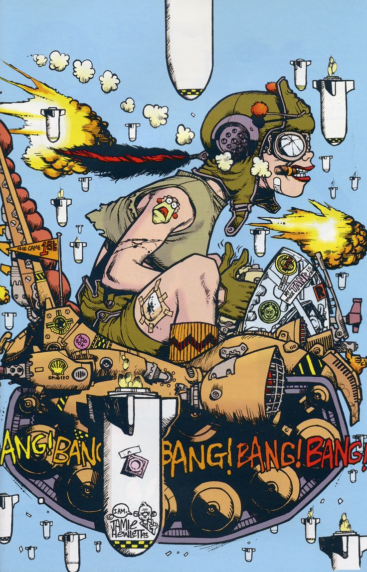 Tank Girl - Love this movie, used to watch it with my cousin all the time!