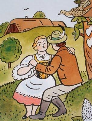 Josef Lada - escritor, pintor e ilustrador checo.  http://universocheco.blogspot.com.es/2011/08/josef-lada-escritor-pintor-e-ilustrador.html