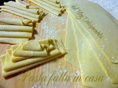Pasta fatta in casa senza uovo ricetta vegana / Blog Dolcipocodolci