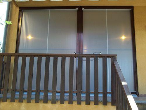 Tenda veranda invernale ermetica con frangivento e tessuto VINITEX retinato antingiallimento Torino www.mftendedasoletorino (3)