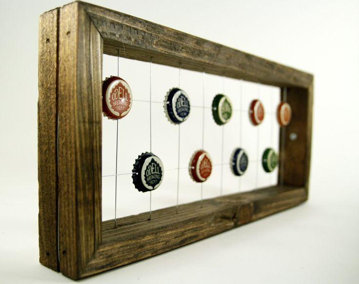 25 best Bottle Cap Art images on Pinterest | Art frames, Bottle cap ...