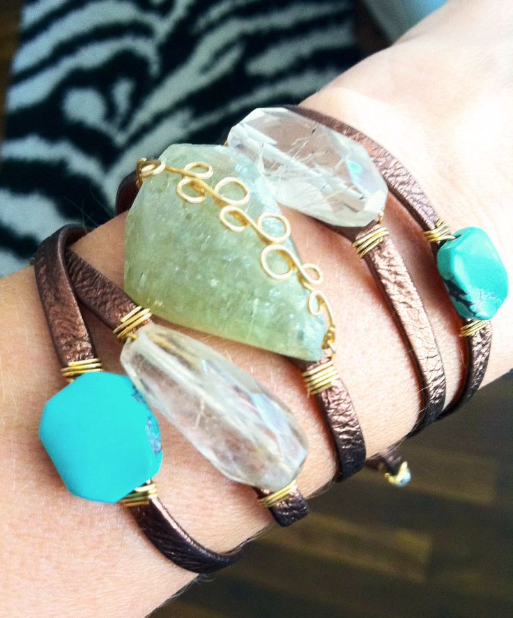 This amazing wrap bracelet from the awesome boutique ...