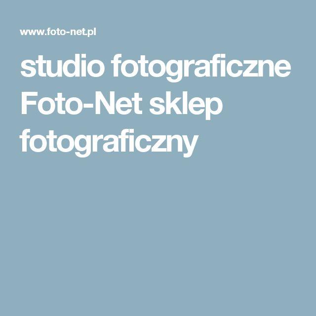 studio fotograficzne  Foto-Net sklep fotograficzny