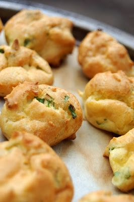Recipe | Cheese Puffs ~ 21 Favorite Holiday & Party Appetizers ... Super Bowl favorites!