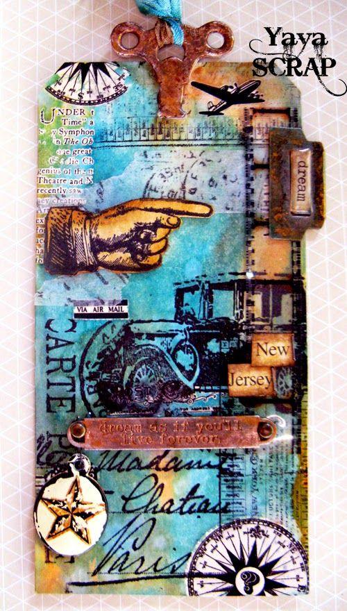 yaya scrap & more: 12 tags of 2013: Maggio e Simon says favorite Ink