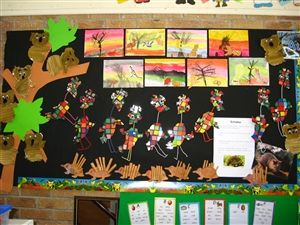 australian animals bulletin boards and some crafts