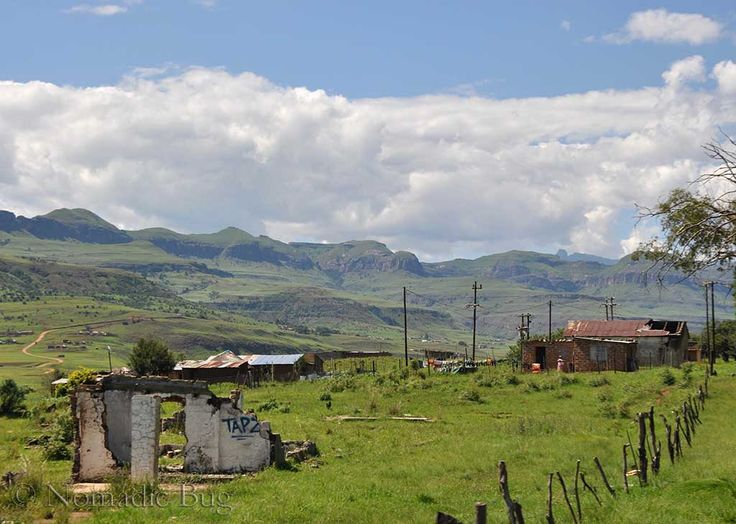 Country side, Northern Drakensberg, South Africa   Nomadic Existence
