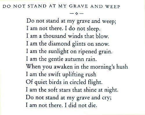 Beautiful, one of my favorite poems. Walt Whitman