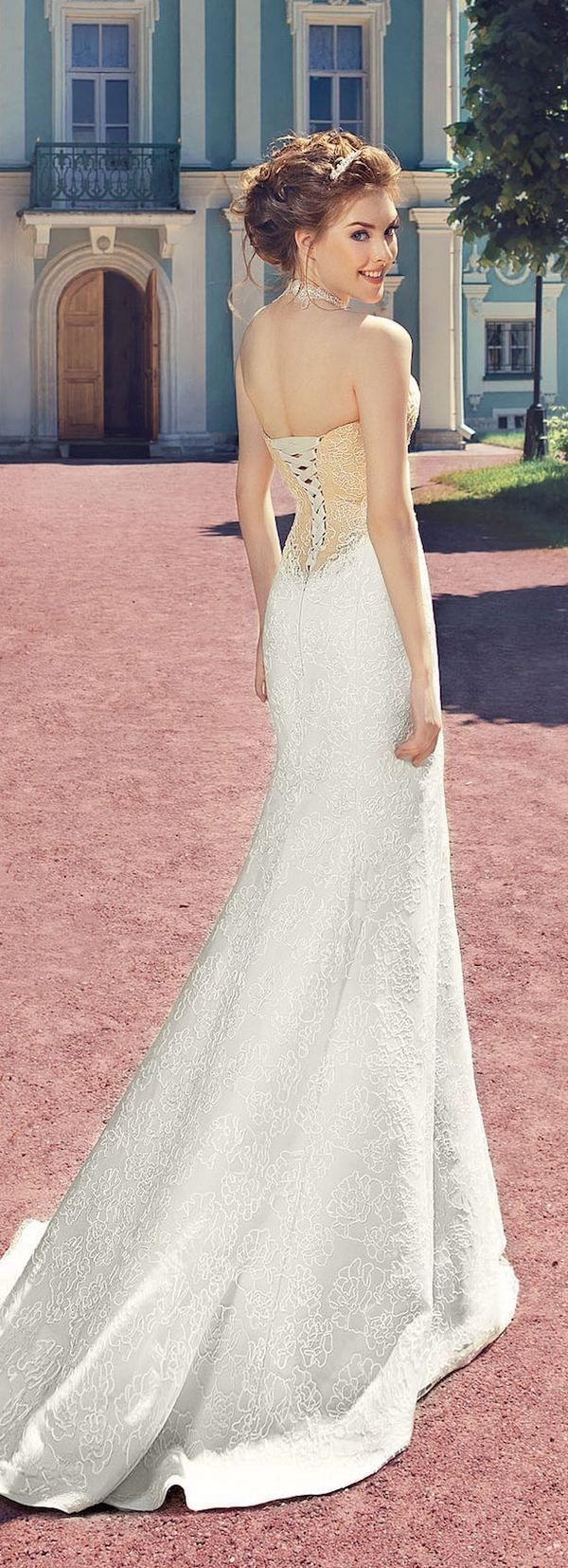 41 best Wedding dresses images on Pinterest   Short wedding gowns ...