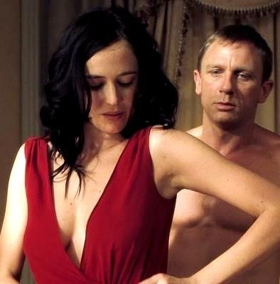 Eva Green for 'Casino Royal' with Daniel Craig