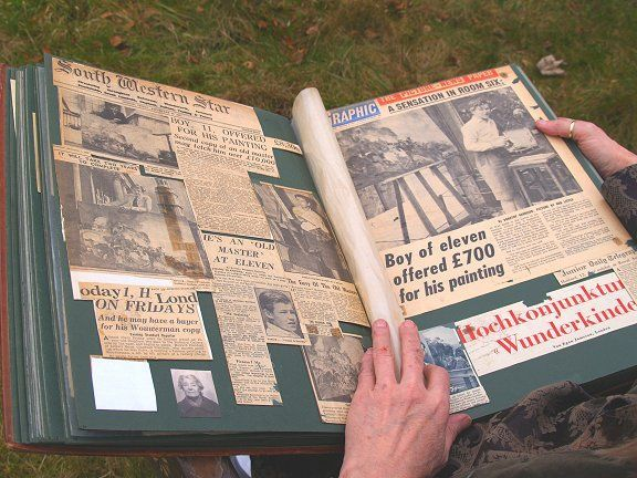 Removing Photos from Old Photo Albums and Scrapbooks